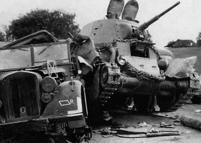 Советский танк БТ
