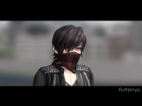MMD - Numb (Galactic Mouth Remix) Nyo!2p!Flutternya Model Test