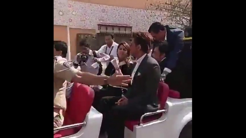 King Khan on Magnetic Maharashtra in Mumbai