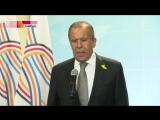 Сергей Лавров_ По итогам встречи президентов России и США на юге Сирии вводится зоны деэскалааций