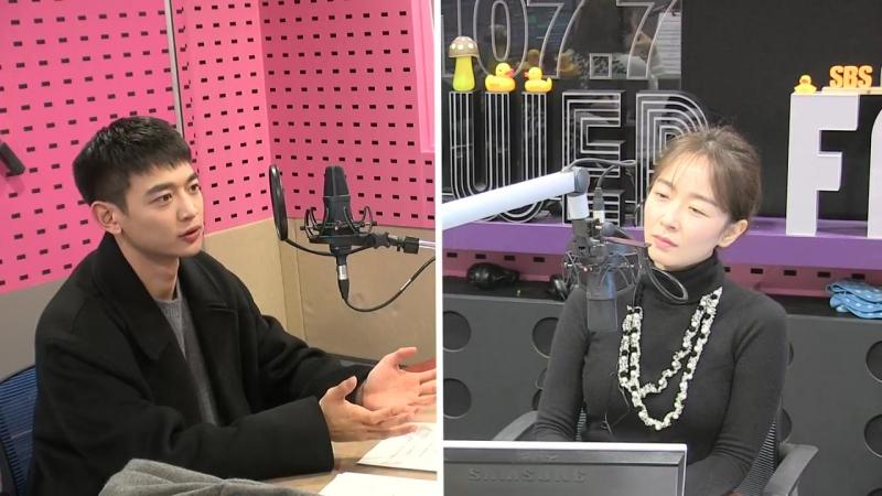 171213 MINHO на радио Park Seon Young's Cinetown