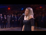 Ферги так неловко исполнила гимн США на матче всех звёзд НБА, что в какой-то момент зрители и игроки даже начали смеяться