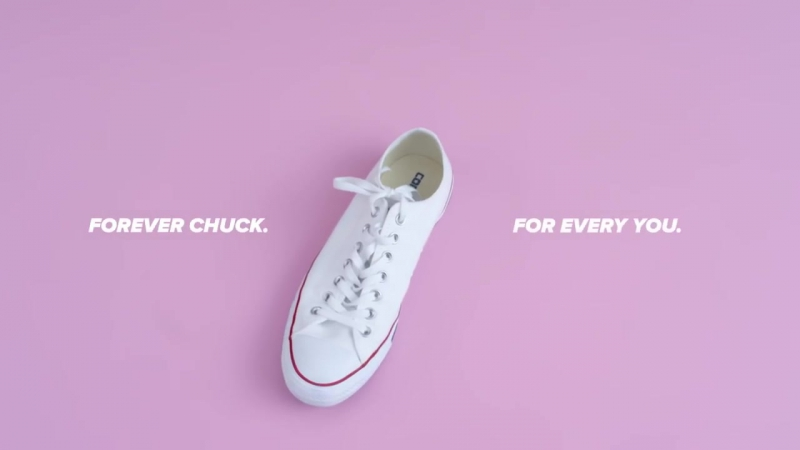 FOREVER CHUCK. FOR EVERY YOU