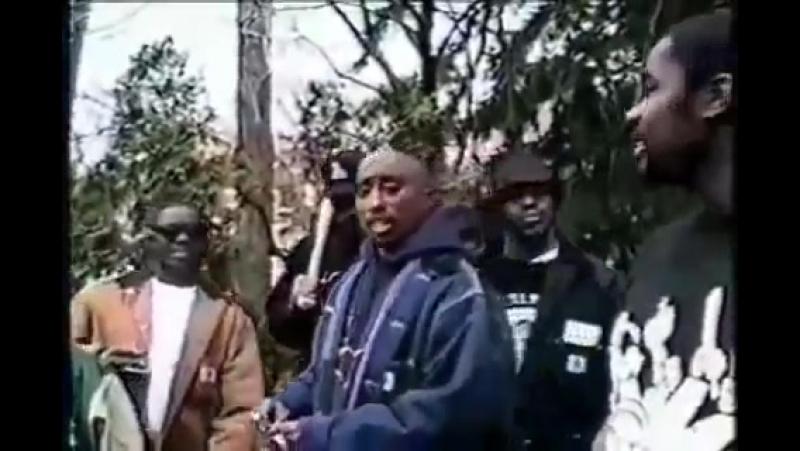 2Pac - Rare Thug Life Interview 1993