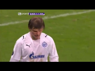 Бавария 1-1 Зенит / 24.04.2008 / FC Bayern Munich vs FC Zenit