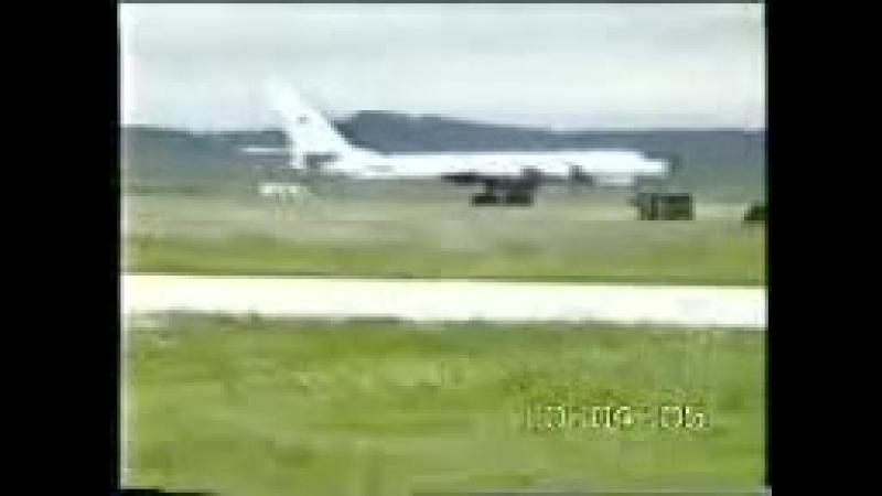 Восточный космопорт. Последний полет Ту-95РЦ 24.06.1993