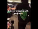 Grocery shopping with Swae Lee & his monkey 😂💸🐒