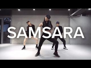 1million dance studio samsara tungevaag & raaban / jane kim choreography