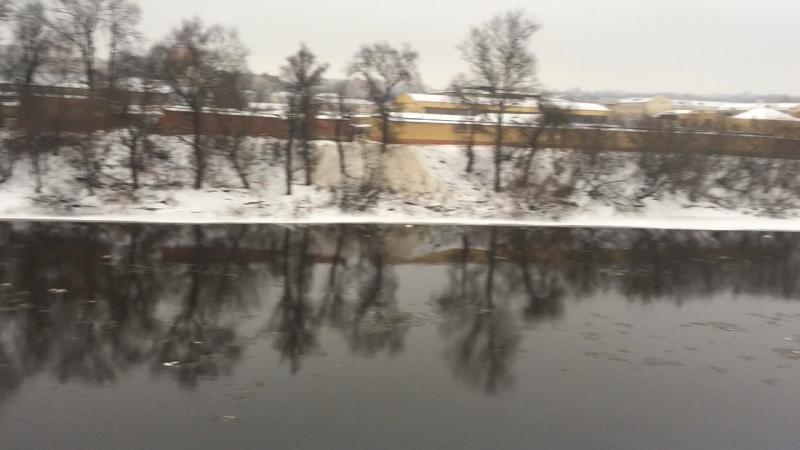 Набережная Днепра в Смоленске