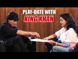 Shah Rukh Khan plays funny chit games! Watch now and try not to smile!