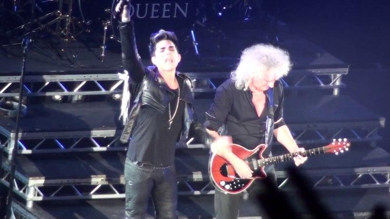 Queen Adam Lambert Don't Stop Me Now London Full Concert HMV Hammersmith Apollo 12-07-2012