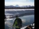 Снегоход по воде