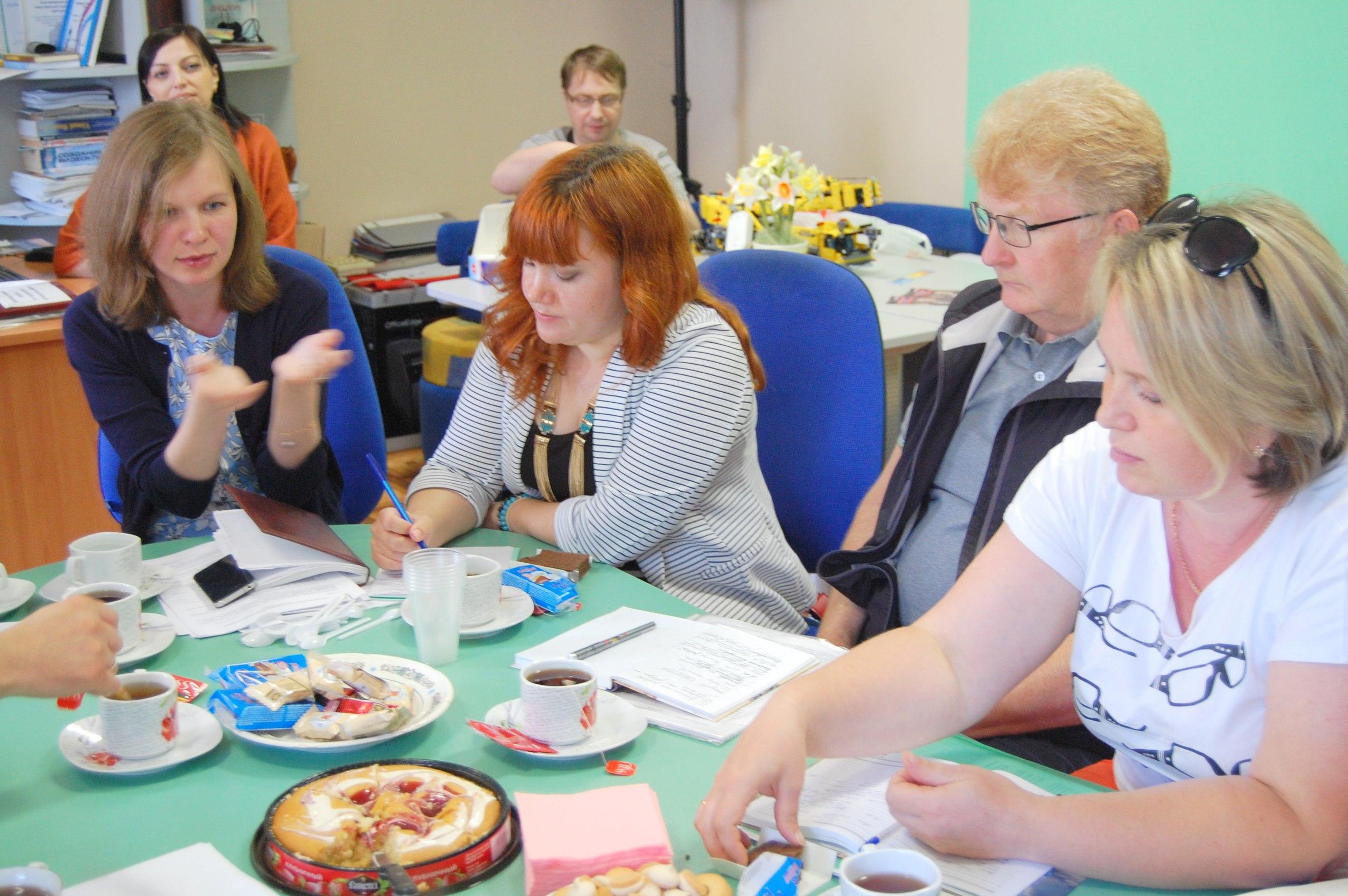 Встреча участников-победителей конкурса «Активное поколение» в пространстве Нижегородской школы робототехники