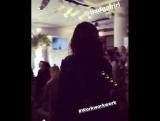 Рианна прибывает на Vogue's Forces of Fashion Press Conference (12.10.2017)