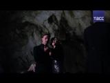 Концерт в Мраморной пещере в Крыму