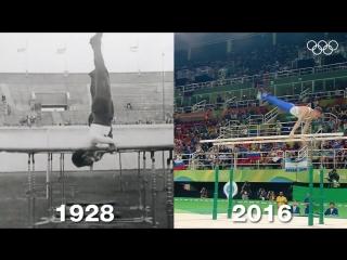 Спортивная гимнастика 1928-2016