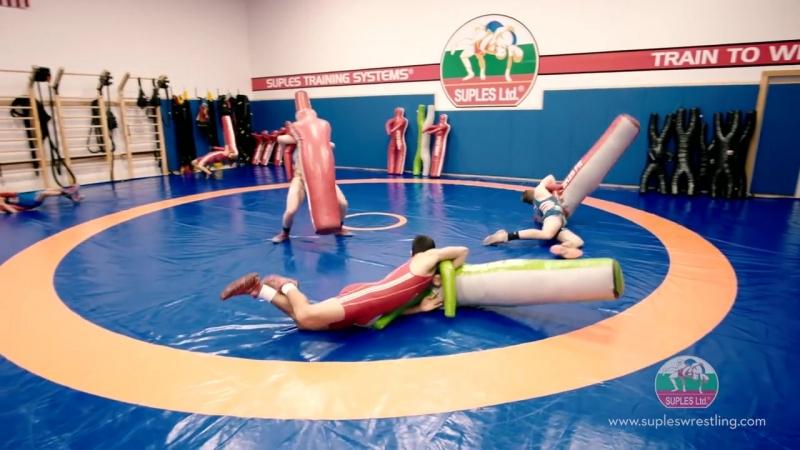 Suples Wrestling Equipment in Action