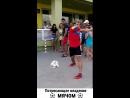 Классное выступление футбольного фристайлера!... - PlankTons - отборный улов из всей сети