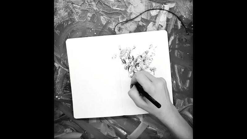Newsky_artbook. Flowers. 1