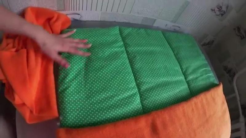Спальный мешок для новорожденного ребенка: готовые 70