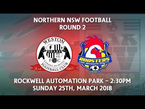 2018 NNSWF NPL Round 2 - Western Workers v Lake Macquarie City FC