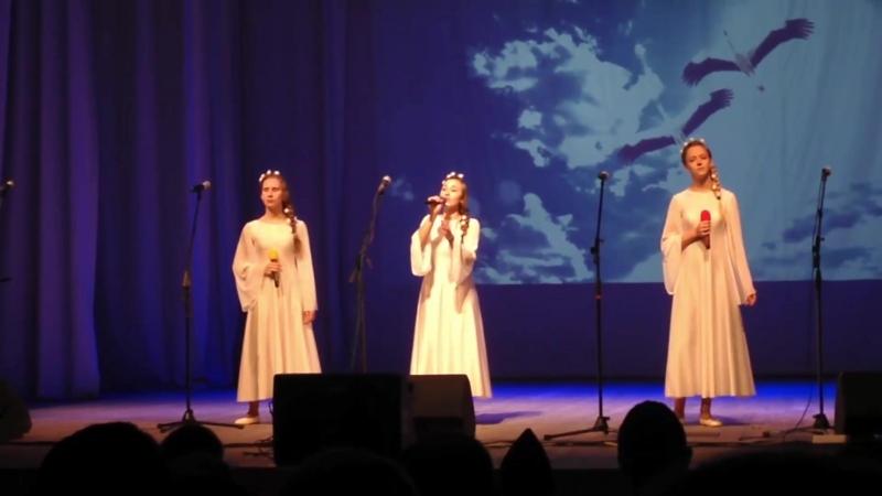 Песня о птицах - старшая группа - Гала-концерт XXI фестиваля Долг Честь Родина - 2018