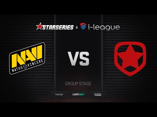 Natus Vincere vs Gambit, map 2 mirage, StarSeries i-League Season 4 Finals