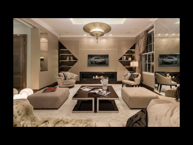 ULTIMATE LONDON LUXURY HOME - designed by 1.61 London showcasing Roberto Cavalli Home Interiors