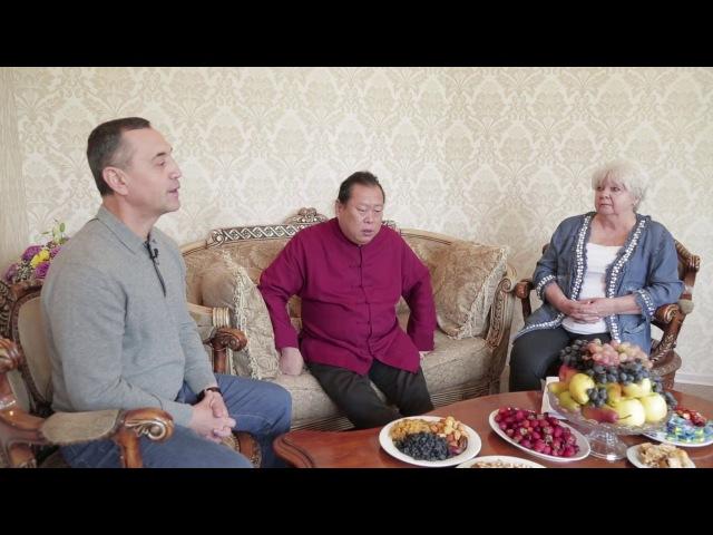 Интервью Мастера Сюй Минтана телеканалу СТВ в г. Алматы