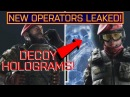 LEAKED ITALIAN OPERATORS FIRST LOOK! Alibi Maestro (Decoy Barrage Ability) Rainbow Six Siege