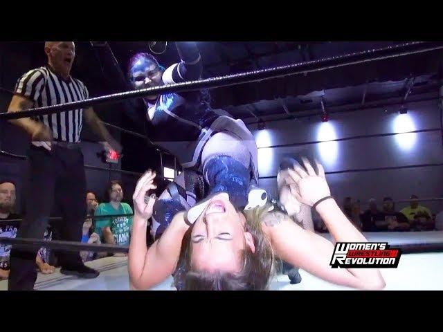 [Free Match] Terra Calaway vs. Allie Recks   Women's Wrestling Revolution AdiosAurora