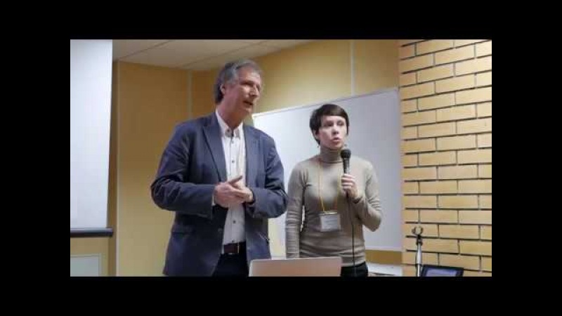 Michael Kern at the first Biodynamic Craniosacral Therapy Conference in Russia