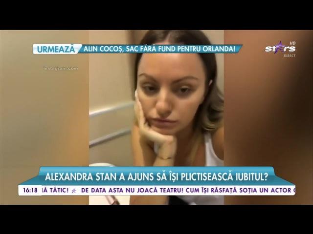 Alexandra Stan a ajuns să îşi plictisească iubitul Toată lumea îi vedea căsătoriţi