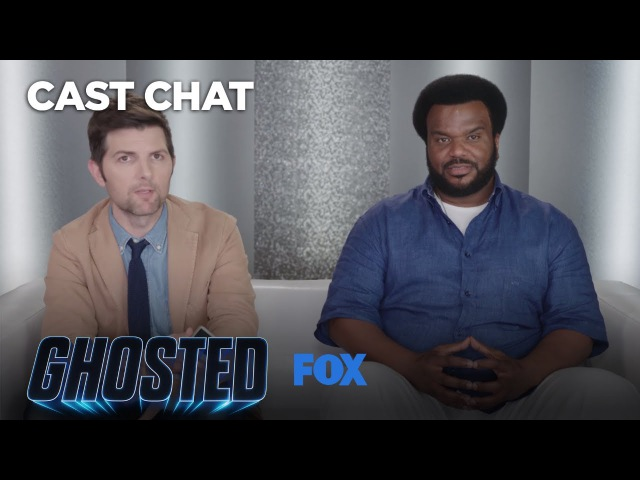 Adam Scott Craig Robinson Take Fans Calls From The Bureau Underground Hotline | Season 1 | GHOSTED