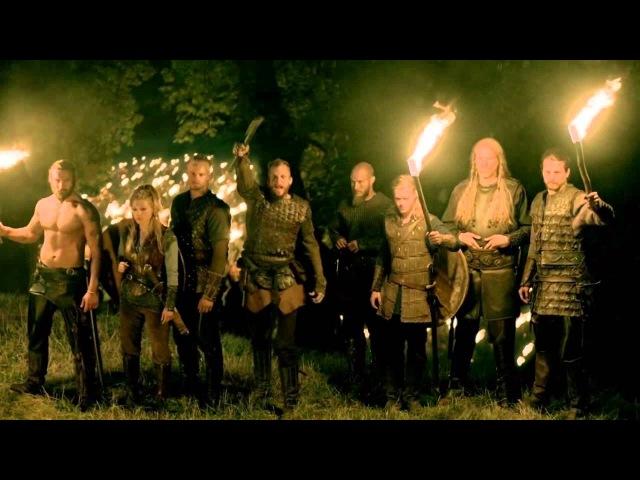 Vikings s03e07 Paris - Flokis War Chant Skeggǫld, Skálmǫld, Skildir ro Klofnir