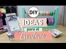 3 Ideas DIY para organizar el Escritorio Con un Trozo de Papel