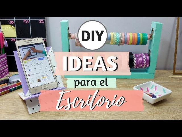 3 Ideas DIY para organizar el Escritorio | Con un Trozo de Papel