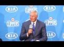 Jerry West joins the Los Angeles Clippers as Consultant