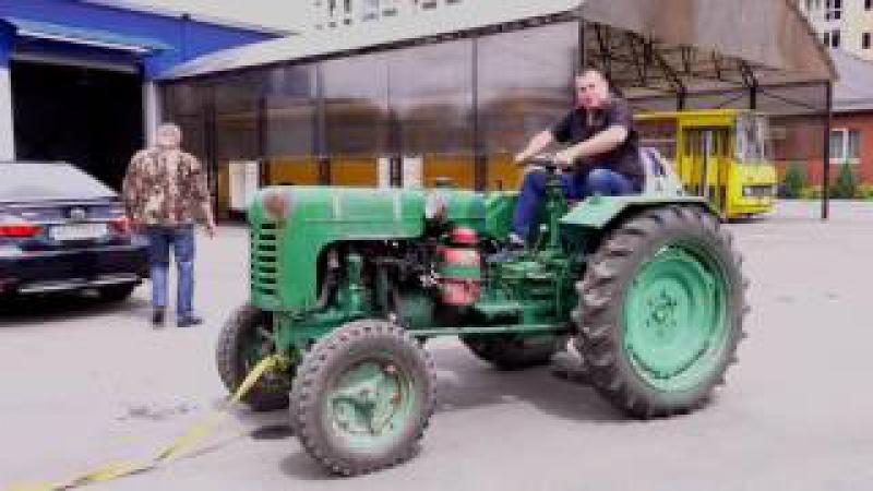 Трактор ХТЗ ДТ-20 1958-го года. Заводим после многолетнего простоя.