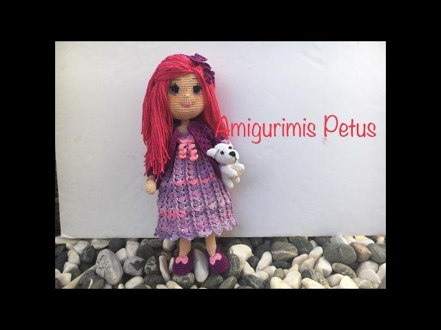 Como bordar ojos nariz y boca muñeca Melany amigurumis Petus OCTAVA PARTE 8 9