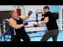 Боксеры против борцов Максим Новоселов против боксера