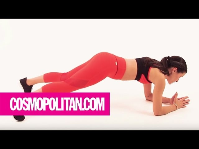 Get A Flat Stomach in 5 Minutes: Week 3 | Cosmopolitan