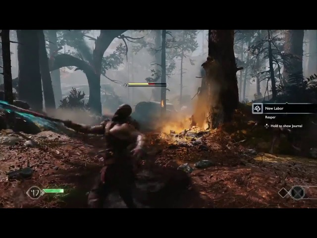 VAZOU GAMEPLAY GOD OF WAR 4