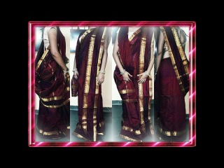 How To Wear Bengali Saree Perfectly In Simple Way