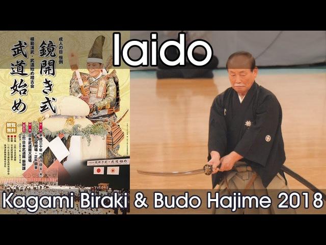 Iaido Demonstration Nippon Budokan Kagamibiraki 2018