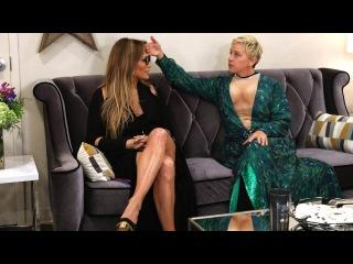 Ellen Helps Prep Jennifer Lopez for Her Las Vegas Show