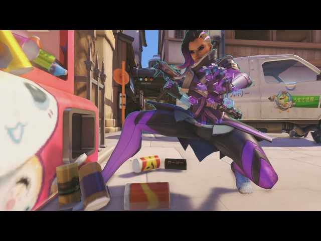 Overwatch - Sombra the Cleaner Lady