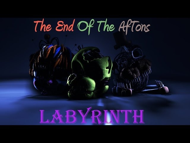 FNAF/SFM| The End Of The Aftons | CG5- Labyrinth