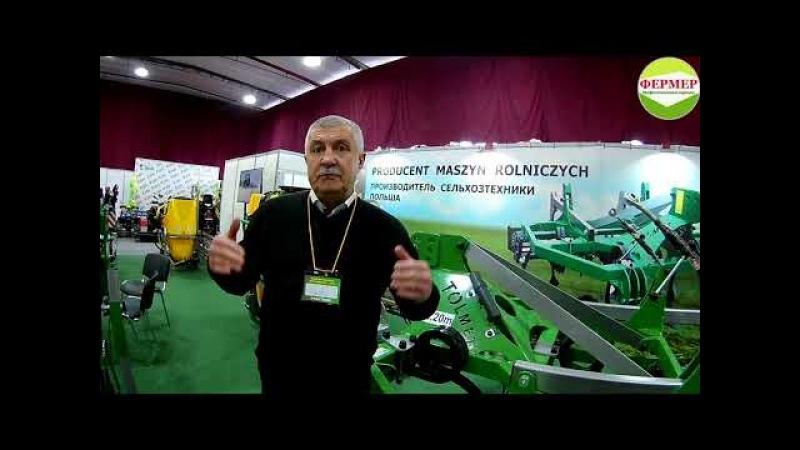 Польская техника и светодиодные фары на выставке Волгоградский агрофорум 8 9 февраля 2018 г