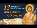 12 ляпсусов и не стыковок в Новом Завете об Иисусе Христе